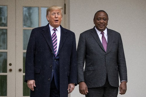 Trump administration to open free-trade talks with Kenya