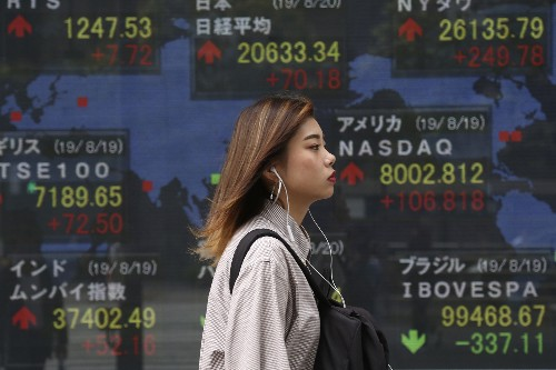 Global shares mixed after Wall Street rally on Huawei