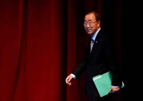 U.N. chief faced funding cut-off, fatwa risk over Saudis: sources