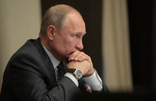 Putin steps up drive for clout in Africa with broadside against West