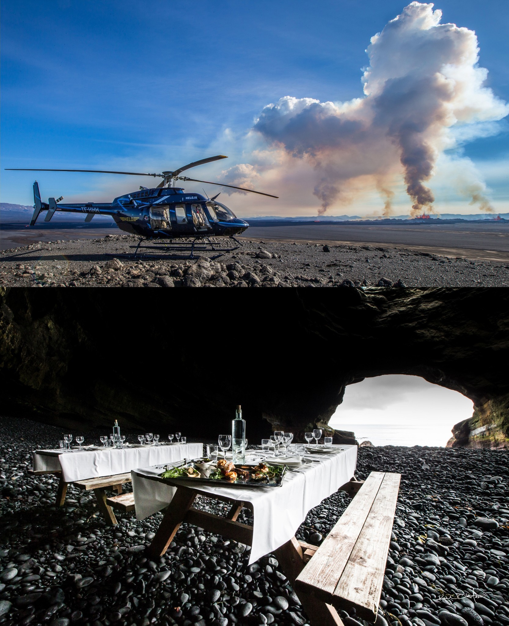Dinner In a Volcano and Other Daring Summer Activities