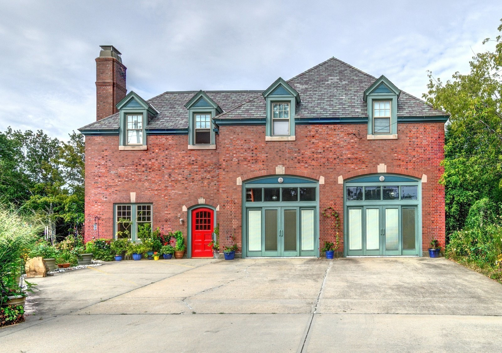 A Converted Firehouse Fit For an Artist Is Listed at $749K