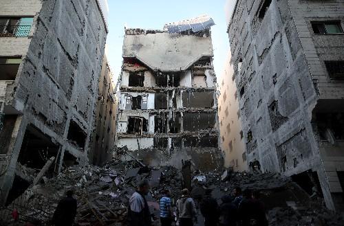 Weiterer Beschuss von Palästinensern und Israelis im Gaza-Streifen