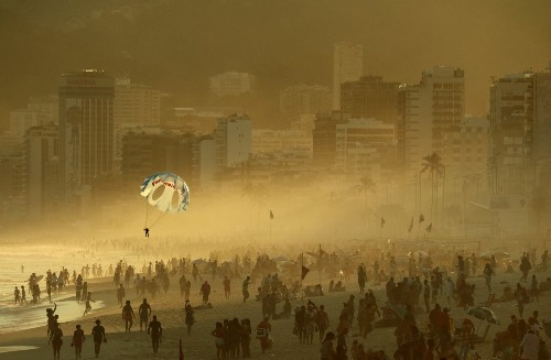 Scenes from Rio's Beaches Before The Olympics Begin: Pictures