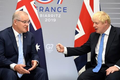 Australian PM congratulates UK's Johnson on dramatic cricket win