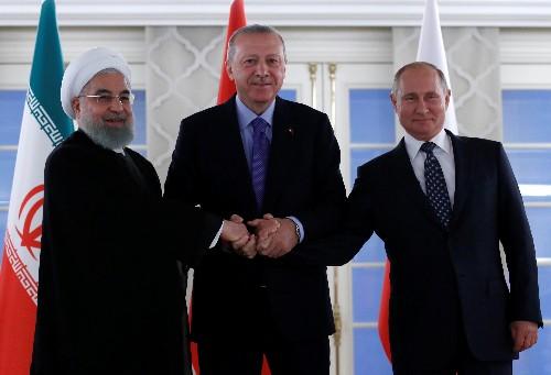 Turkey, Russia, Iran must take more responsibility for Syria peace: Erdogan