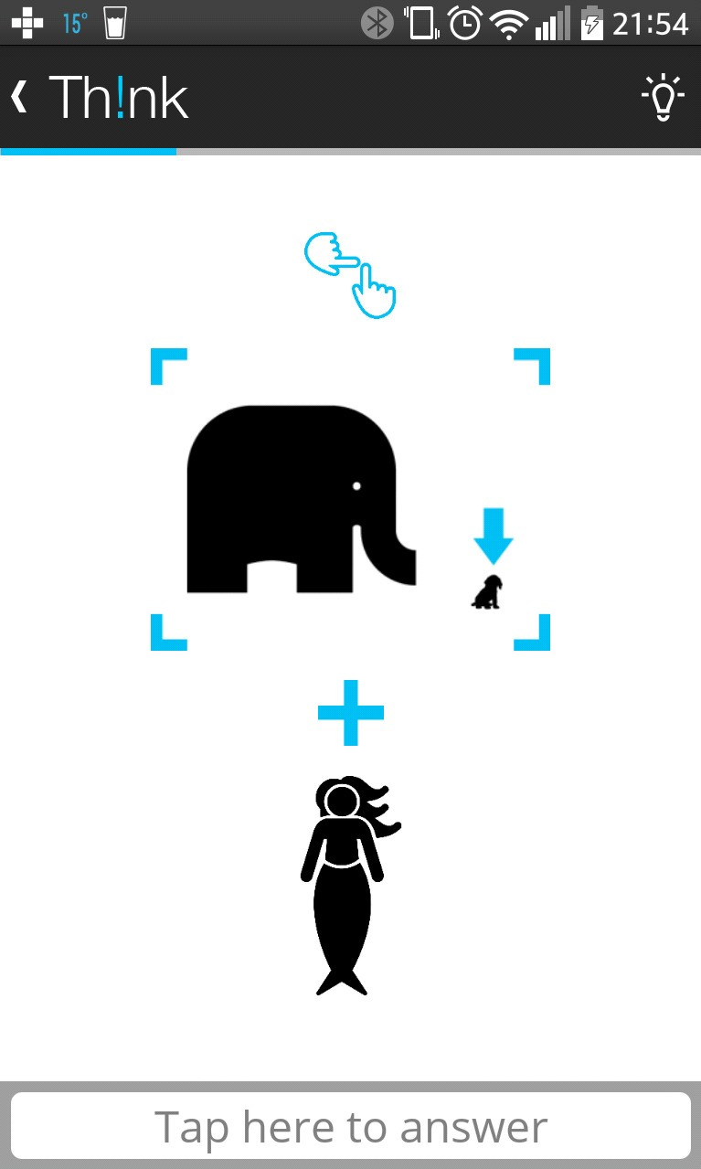 """help! the puzzle contains the words """"the little elephant and"""" what would the last word be?"""