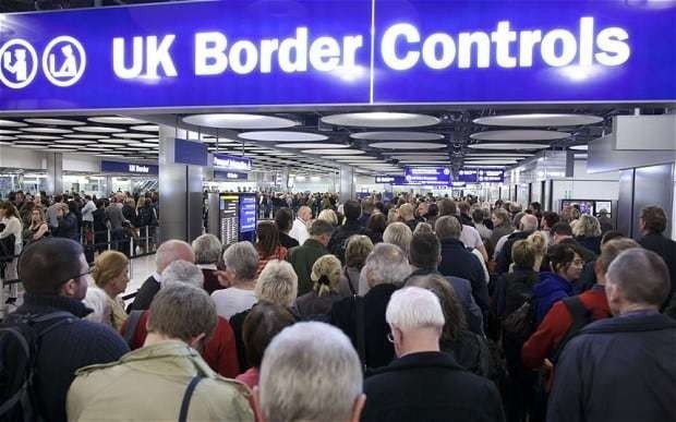 Quarter of Britons say 'all immigrants should leave'