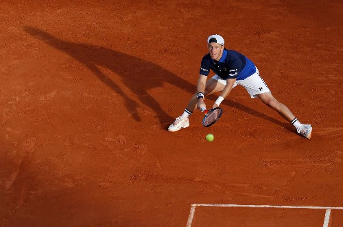 ATP roundup: Schwartzman survives opener in Barcelona