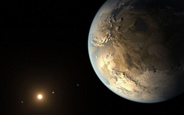 Eight habitable planets found orbiting distant suns in 'Goldilocks zone'