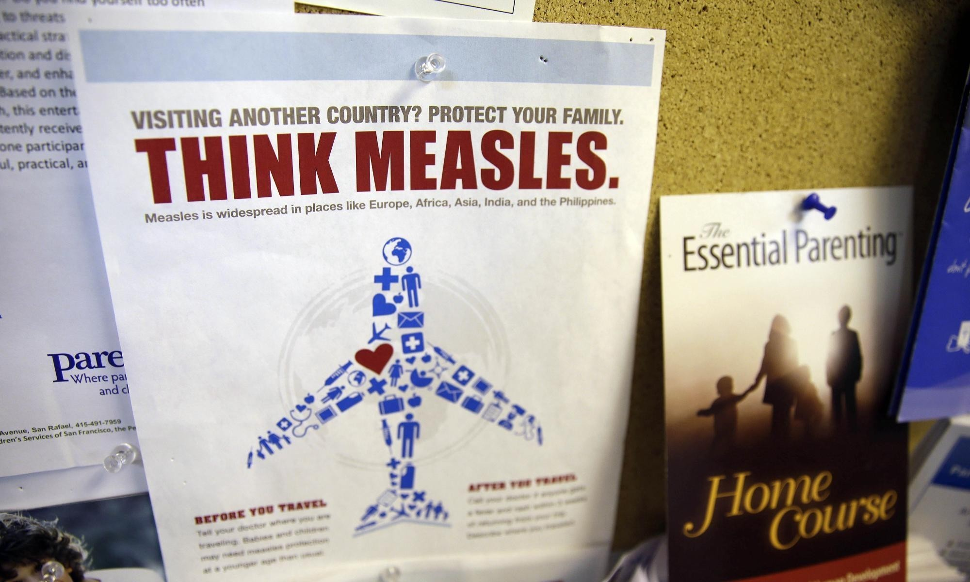 Measles cases in the US rise to 121 as outbreak spreads to Mexico