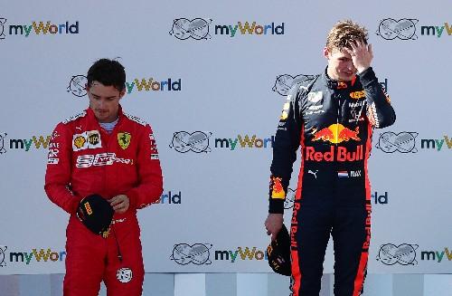 Motor racing: Austria an eye-opener for Leclerc in duel with Verstappen