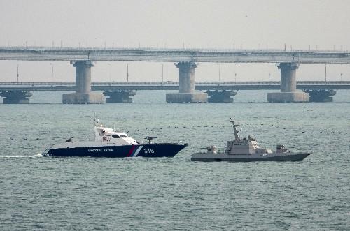 Ukraine confirms Russia returning three captured naval ships