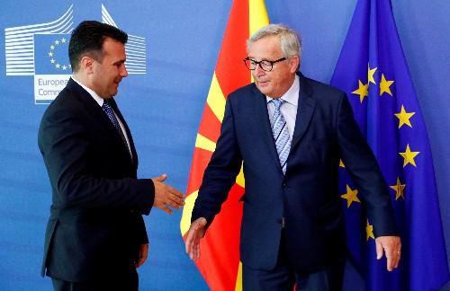Macron on course for clash with Merkel over EU talks with Balkan hopefuls