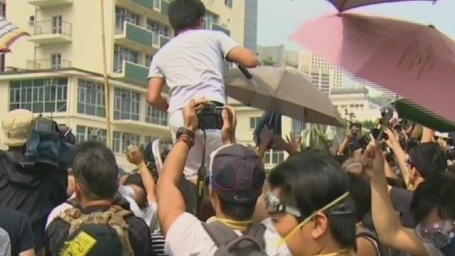 Hong Kong protest group rejects talks