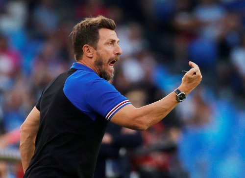 Coach Di Francesco leaves bottom-placed Sampdoria