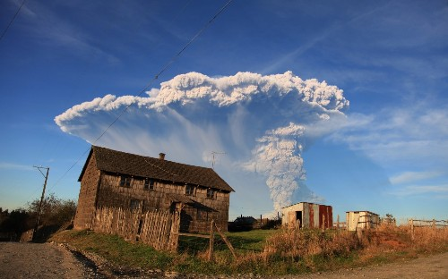 Volcano Erupts in Chile: Pictures