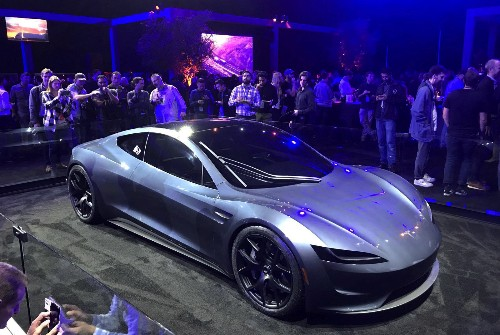 Tesla Unveils New Roadster and Truck: Pictures