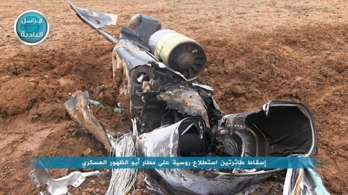 Nusra Front says it downed Russian drones in Syria