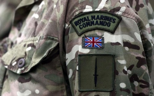 The Royal Marines mark their 350th Anniversary