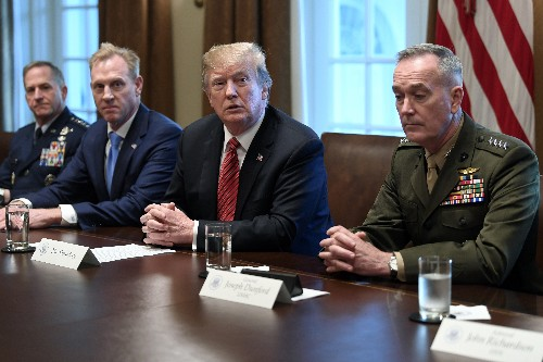 Acting Pentagon chief defends space force amid skepticism