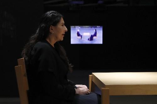 Artist Marina Abramovic opens exhibition in native Belgrade