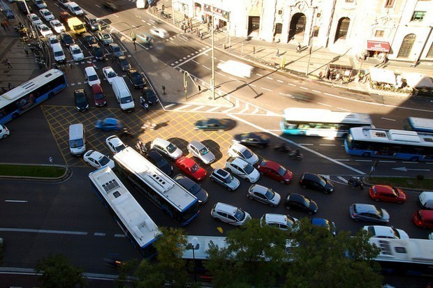 Madrid's Bold New Pollution Plan: Ban Cars and Make Transit Free