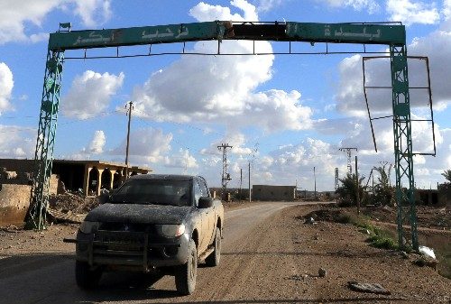 Islamic State's 'caliphate' on brink of defeat in Syria