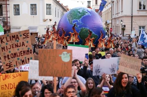 Global Climate Strike in Pictures
