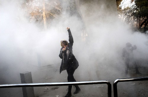 Protests Turn Deadly in Iran: Pictures