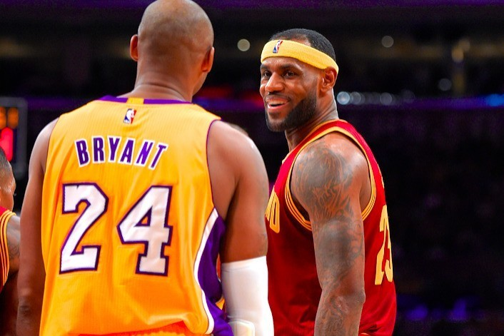 After Long Cold War, LeBron James Has Won Respect of More Mellow Kobe Bryant