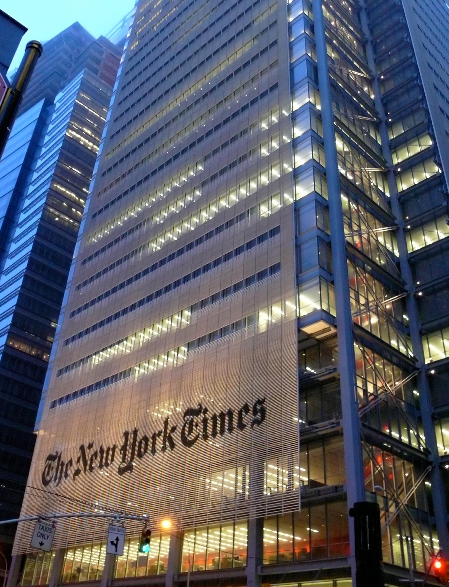紐約時報中文網 - cover