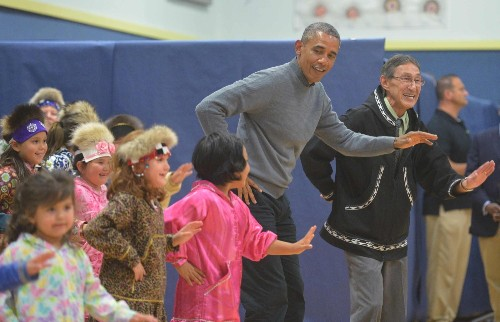 President Obama Goes to Alaska: Pictures