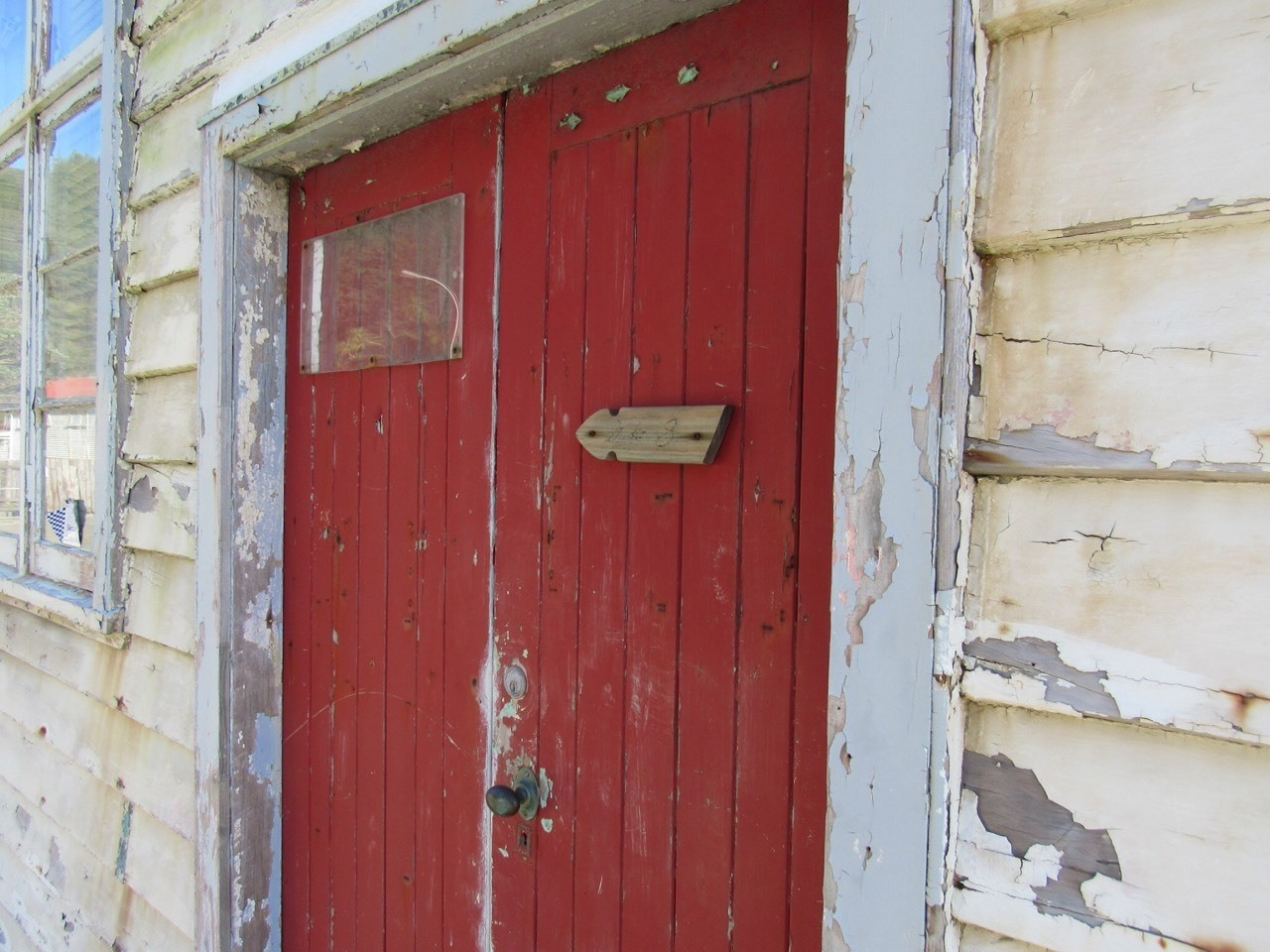 What's behind the red door?