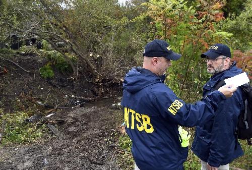 APNewsBreak: NTSB hasn't fully examined limo in fatal crash