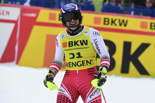Mayer benefits from new rule to win World Cup combined event