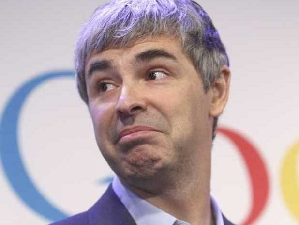 Here's The Joke A Bunch Of Googlers Are Telling About CEO Larry Page