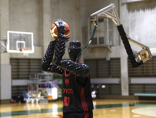 Toyota robot can't slam dunk but shoots a mean 3-pointer