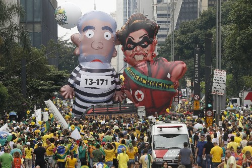 Brazil in Turmoil: Pictures