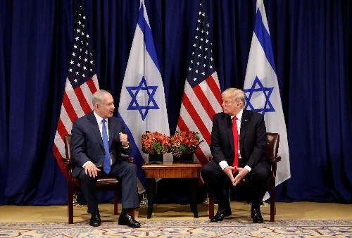Trump floats possible defense treaty days ahead of Israeli elections