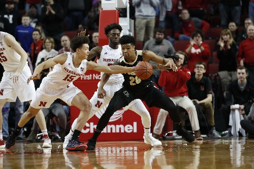 Haarms helps No. 15 Purdue slip past Nebraska