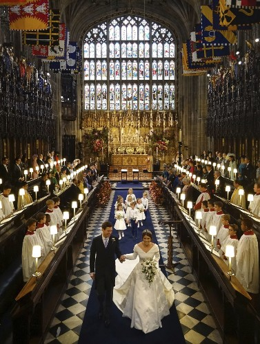 The Royal Wedding of Princess Eugenie and Jack Brooksbank: Pictures
