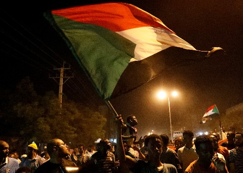 Sudanese security forces use violence to disperse student protest