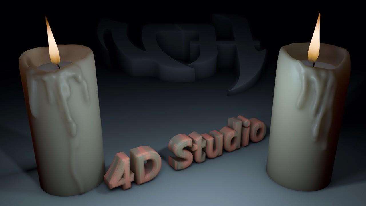 Candle Vanshe 4D Studio