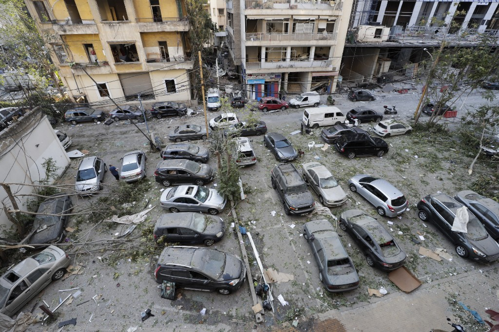 The Latest: Russia to send 5 planeloads of aid to Beirut