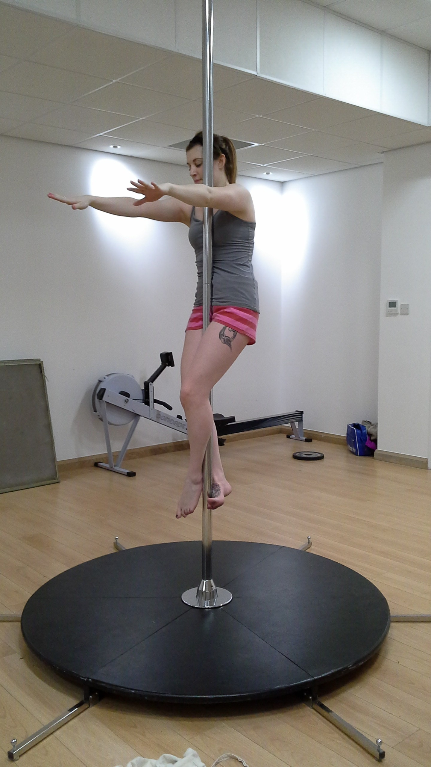 Here's a few 'Pole Progress' shots from some brave ladies #week 1!
