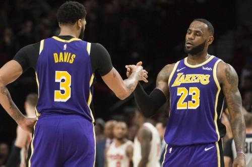 NBA roundup: Lakers blast Blazers