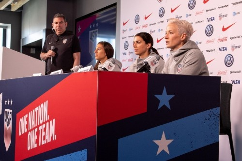 Soccer: U.S. players want more investment in women's game