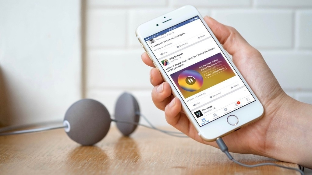 Facebook for iPhone adds enhanced Apple Music and Spotify song sharing with Music Stories