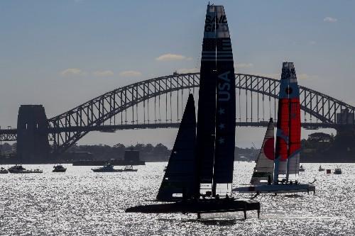 SailGP Races Across Sydney Harbor: Pictures